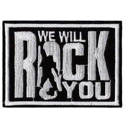 Нашивка We Will Rock You (200990)
