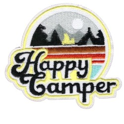 Нашивка Happy Camper (202201)