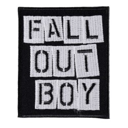 Нашивка Fall Out Boy (200112)