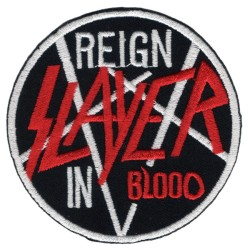 Нашивка Slayer - Reign In Blood (202654)