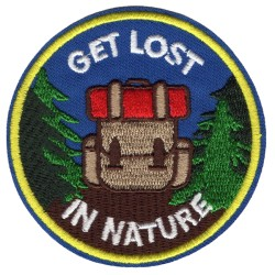 Нашивка Get Lost In Nature (202470)